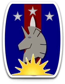 4518th Lift Infantry Brigade Shoulder Service Insignia