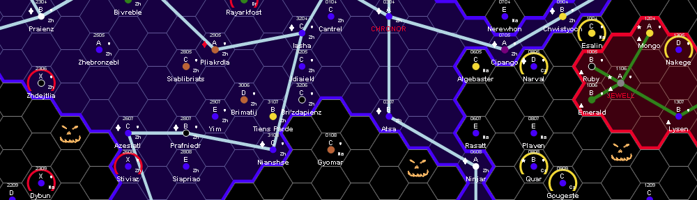 Halloween scenarios for Traveller