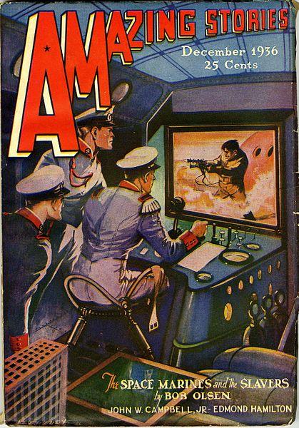 Amazing Stories December 1936