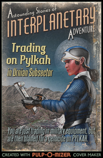 Trading on Pylkah Pulp cover
