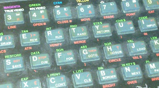 ZX Spectrum – my model 1bis