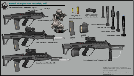 SW Small Arms Poster