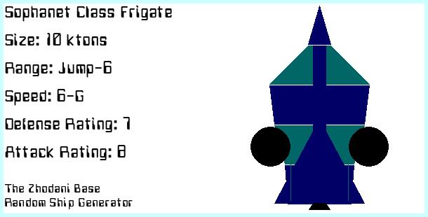Sophanet Frigate